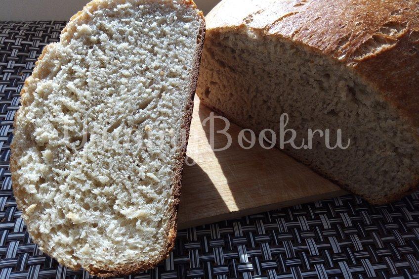 """Чесночно-луковый хлеб с """"шампиньонами"""""""