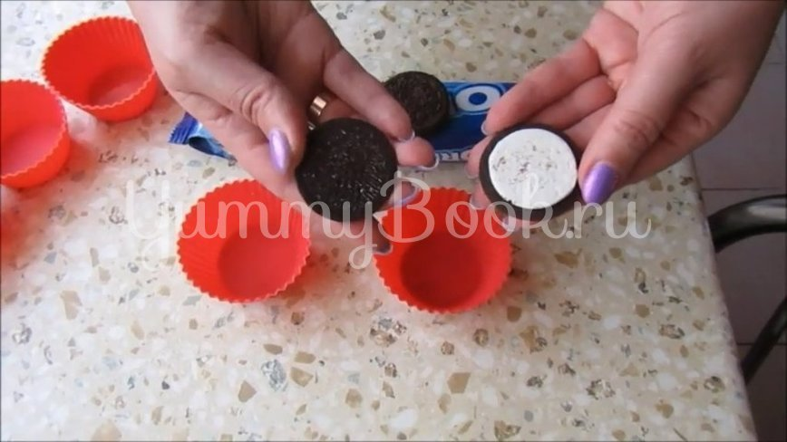Молочное желе «Орео» - шаг 3