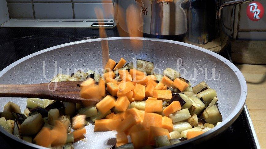 Тыква с баклажанами, сердцем и мёдом - шаг 6