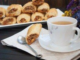Песочное печенье с марципаном
