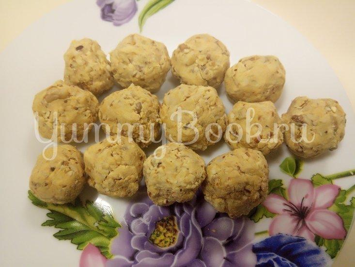 Ореховые конфеты  - шаг 3