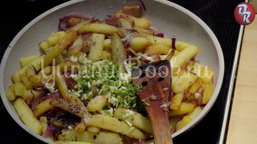 Жареная картошка на сале - шаг 9