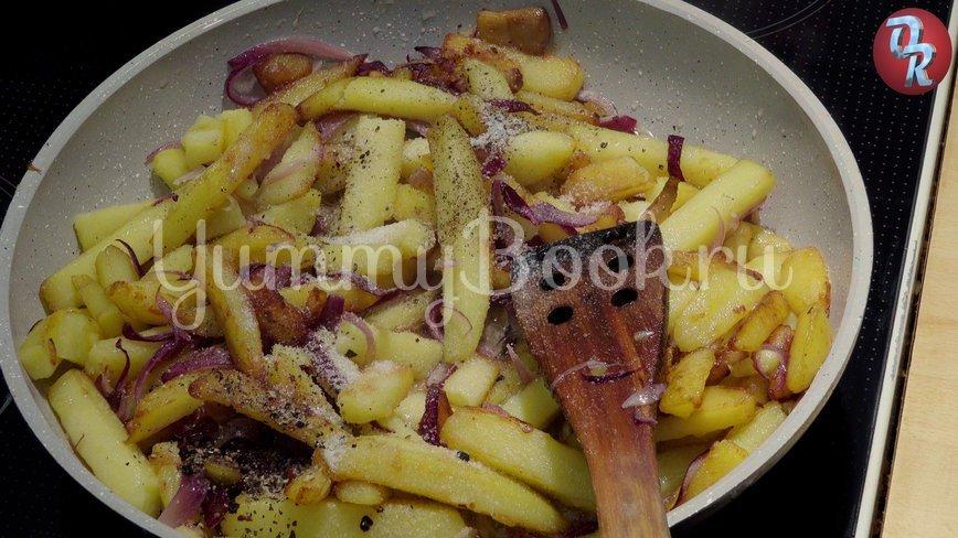 Жареная картошка на сале - шаг 7