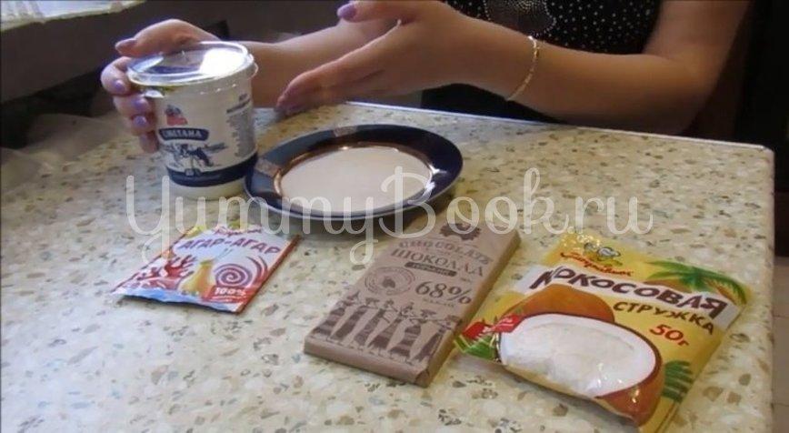 Десерт «Птичье молоко» за 15 минут - шаг 1