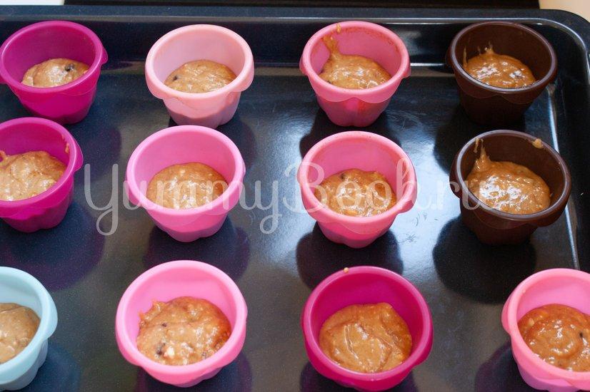 Кофейные маффины с шоколадом - шаг 4