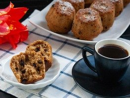 Кофейные маффины с шоколадом