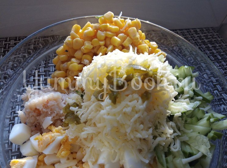 Салат с мясом криля - шаг 7