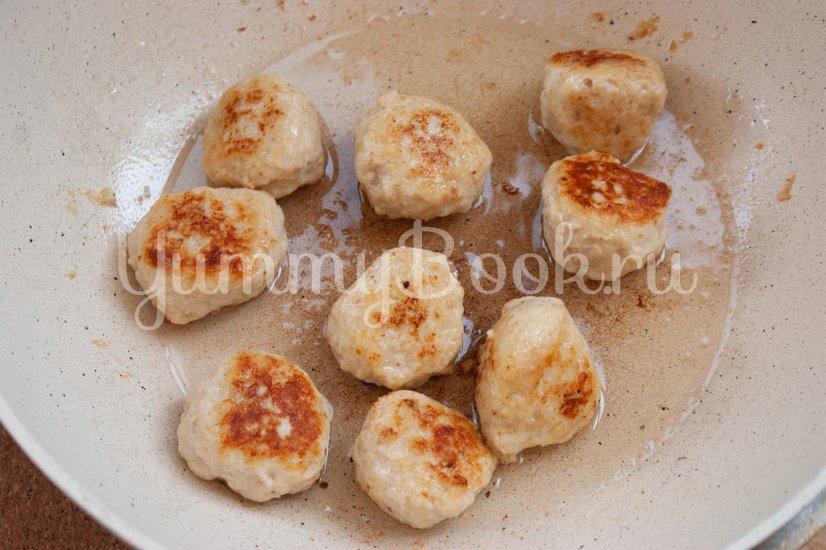 Куриные фрикадельки в медовом соусе - шаг 4