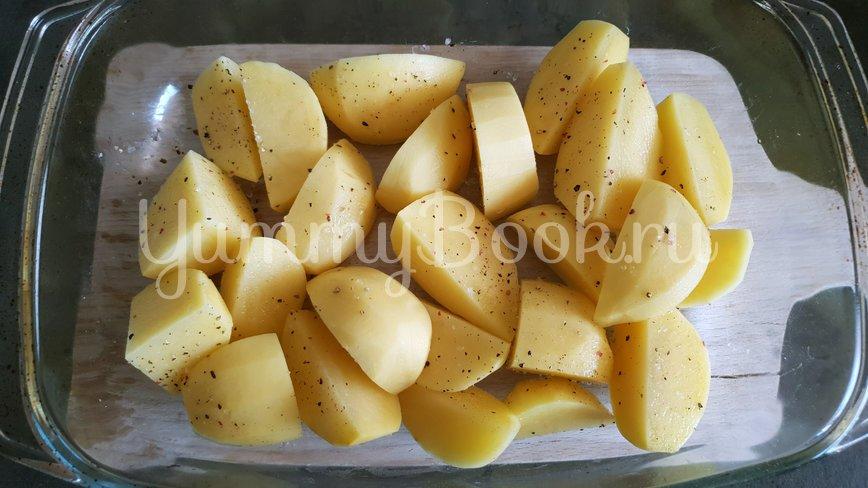 Осьминог запеченный с картофелем - шаг 5