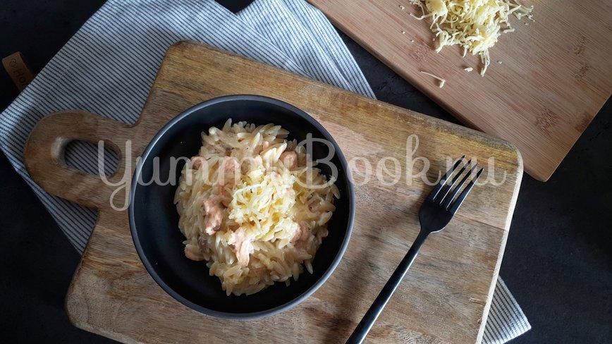 Сливочная паста с лососем - шаг 5