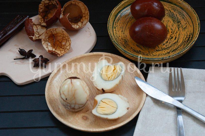 Чайные яйца - шаг 4