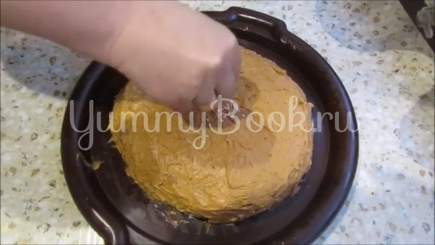 Шоколадно-медовый торт «Спартак» - шаг 4