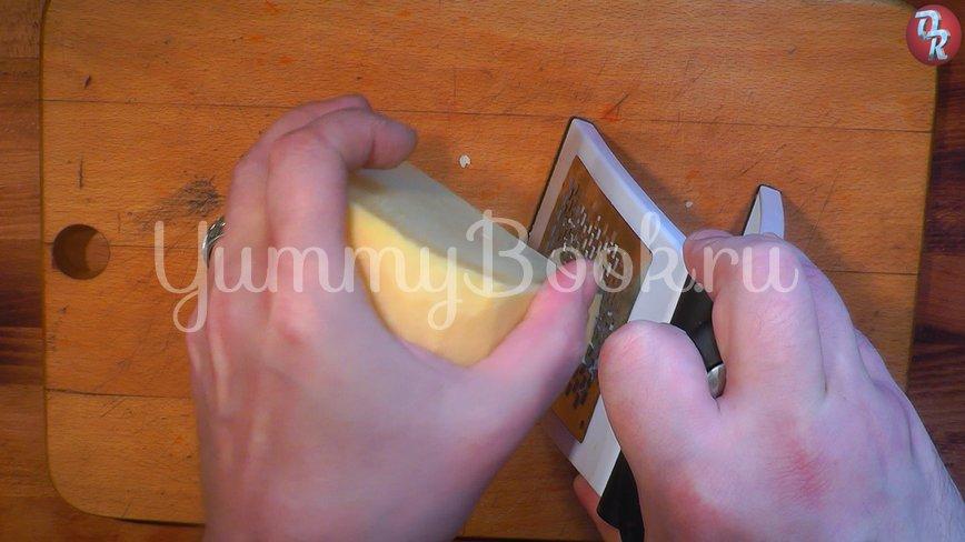 Блинчики с сыром и зеленью - шаг 2