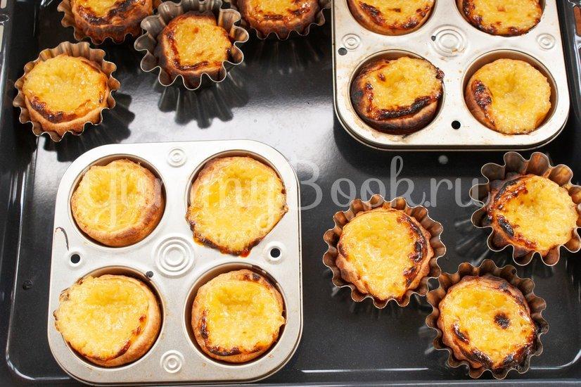 Пирожные паштел-де-ната - шаг 14