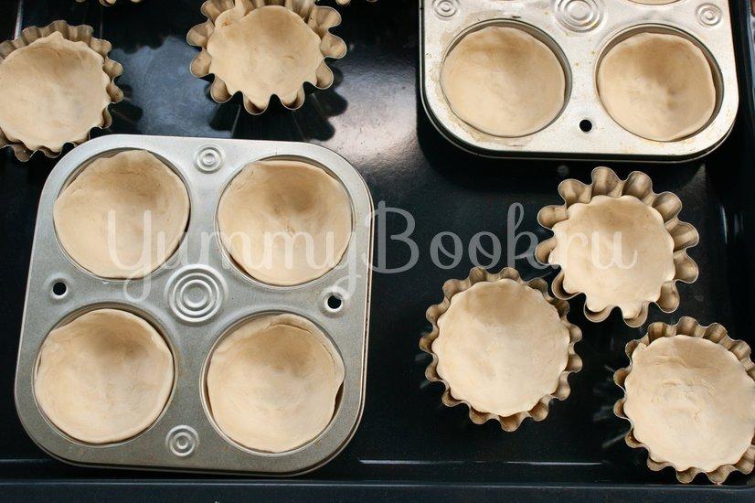 Пирожные паштел-де-ната - шаг 12