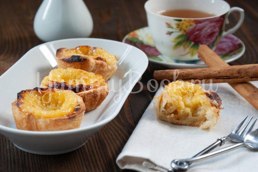 Пирожные паштел-де-ната - шаг 15