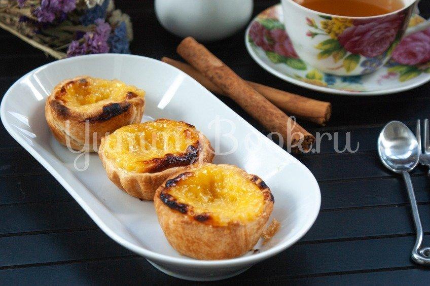 Пирожные паштел-де-ната