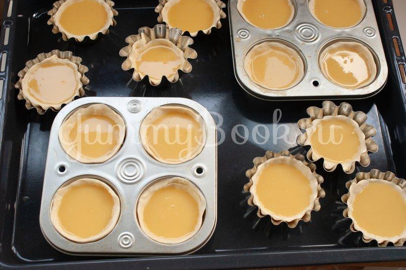 Пирожные паштел-де-ната - шаг 13