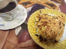 Капустный пирог из маринованной капусты