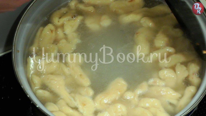 Картофельные ньокки с панчеттой - шаг 3