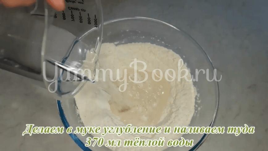 Универсальное дрожжевое тесто без яиц и молока - шаг 6