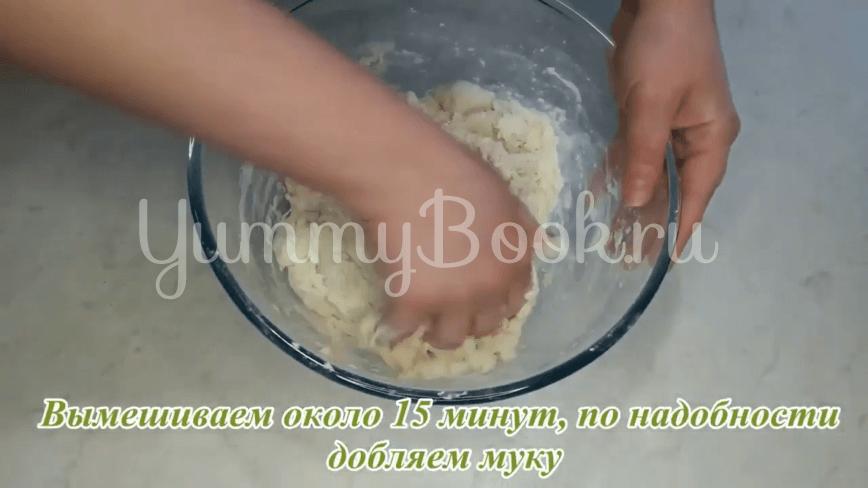 Универсальное дрожжевое тесто без яиц и молока - шаг 8