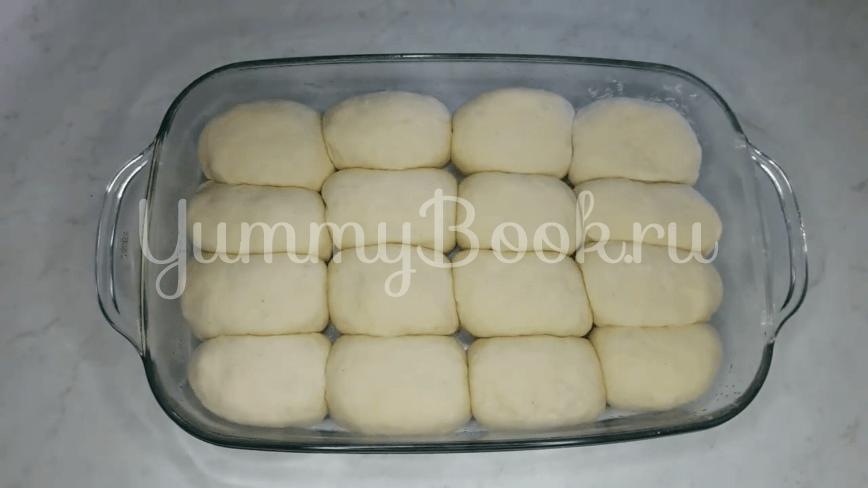Пампушки с чесноком к борщу - шаг 19