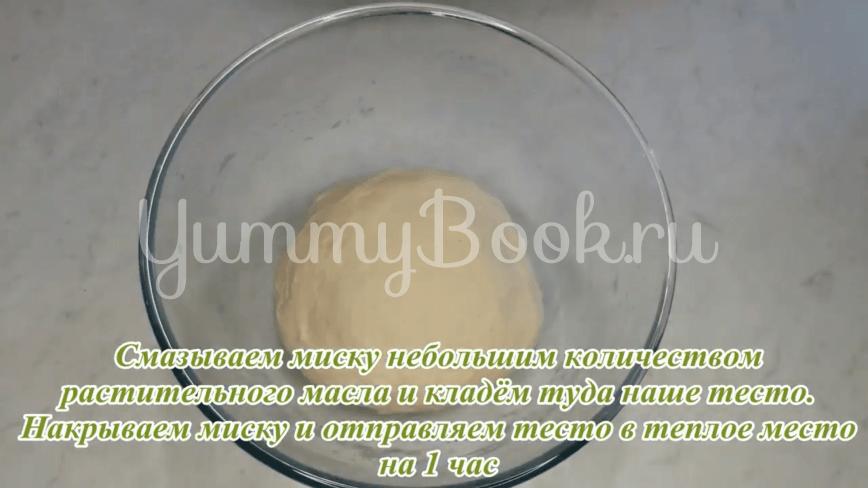 Пампушки с чесноком к борщу - шаг 13