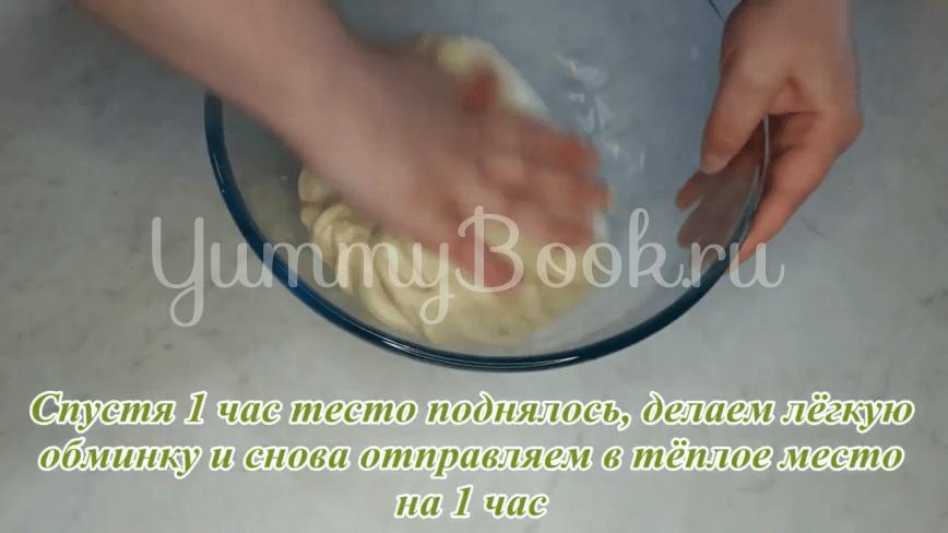 Пампушки с чесноком к борщу - шаг 14