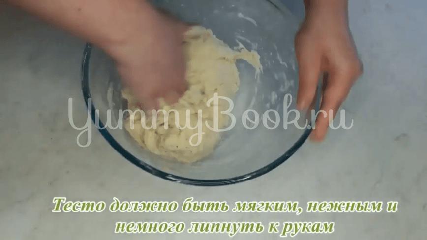 Пампушки с чесноком к борщу - шаг 9
