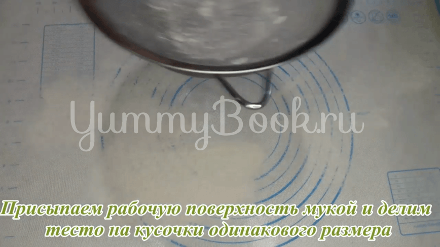 Пампушки с чесноком к борщу - шаг 16