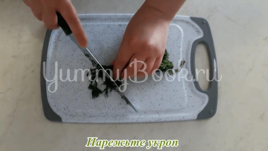 Пампушки с чесноком к борщу - шаг 22
