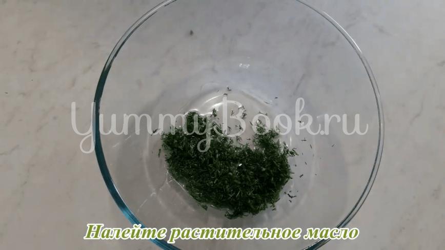 Пампушки с чесноком к борщу - шаг 24