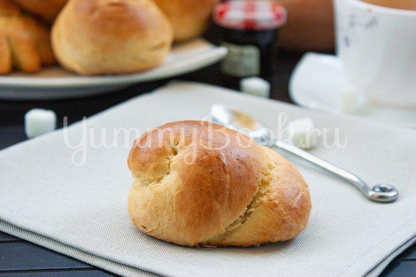 Простые дрожжевые булочки
