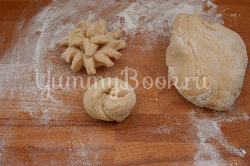 Простые дрожжевые булочки - шаг 4