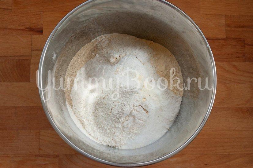 Хлеб на сухом молоке - шаг 1