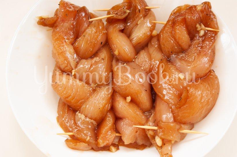 Косички из куриного филе - шаг 4