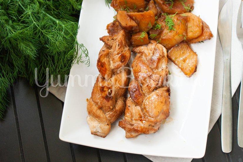 Косички из куриного филе - шаг 6