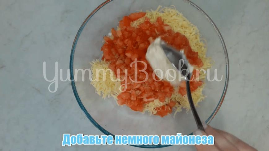 Горячие бутерброды с колбасой и сыром - шаг 6