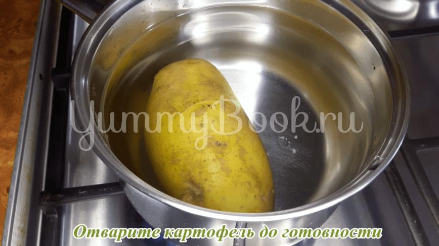 """Салат """"Охотничий"""" с сырокопченой колбасой - шаг 1"""