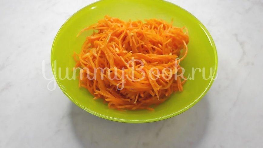 Морковь по-корейски с чесноком - шаг 15
