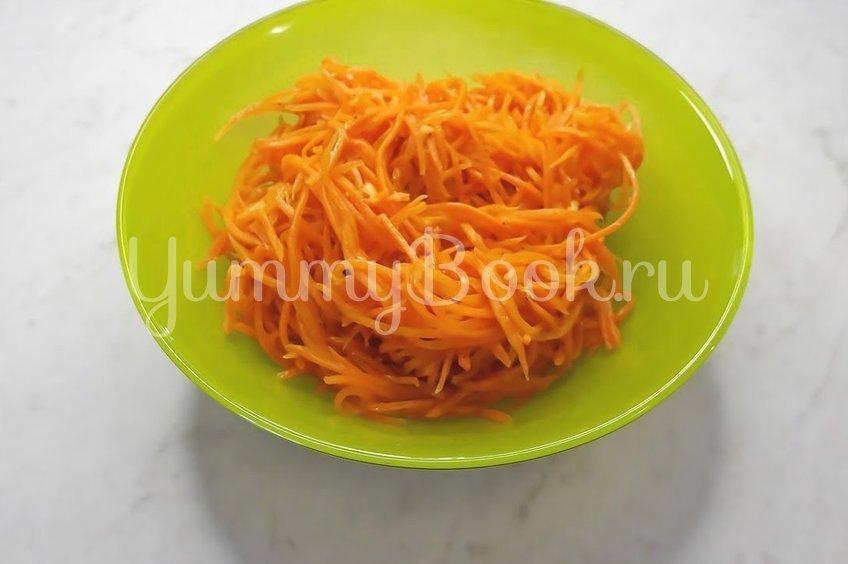 Морковь по-корейски с чесноком