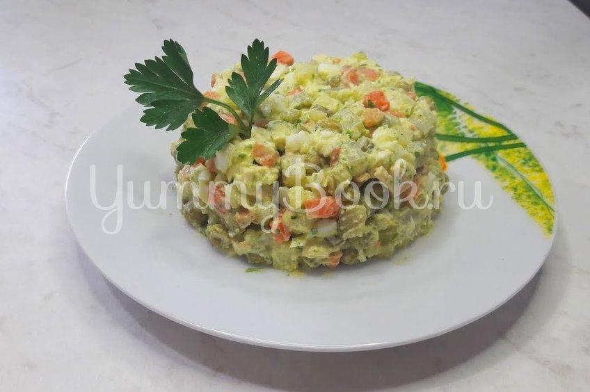 """Салат """"Оливье"""" по-новому"""