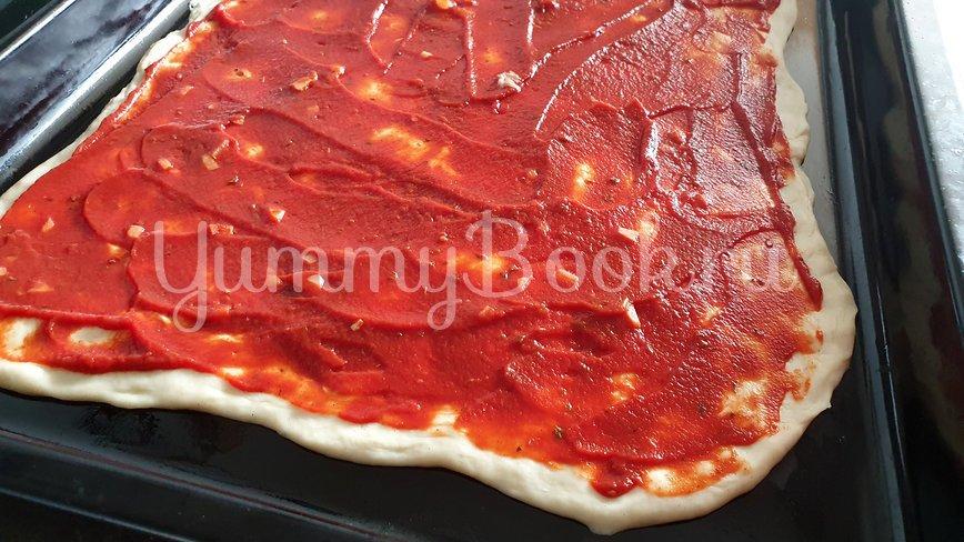 Пицца с тунцом и козьим сыром - шаг 4