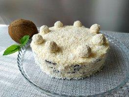 Домашний торт «Дуэт» (без выпечки)