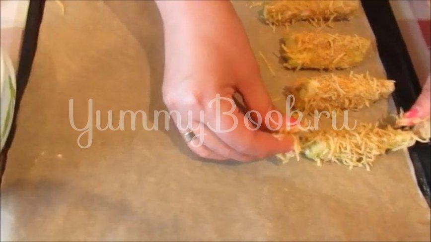 Кабачки в хрустящей сырной панировке - шаг 4