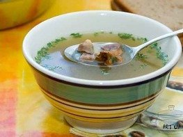 Суп из куриных сердец