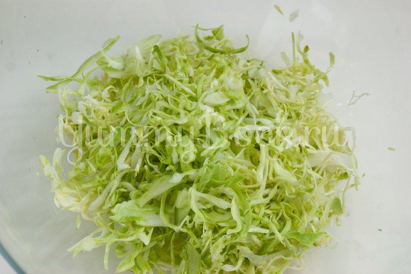 Острый овощной салат - шаг 1
