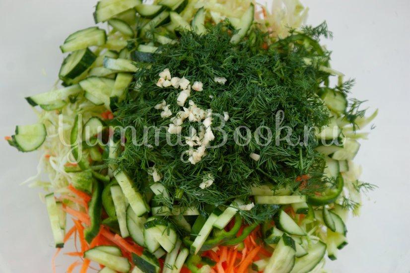 Острый овощной салат - шаг 5