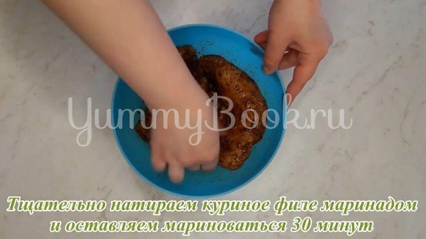 Шаурма с куриным филе по-домашнему  - шаг 7